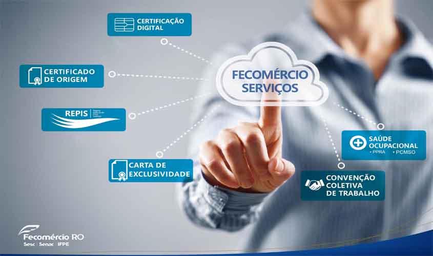 Fecomércio-RO facilita serviços a empresários de todo o Estado
