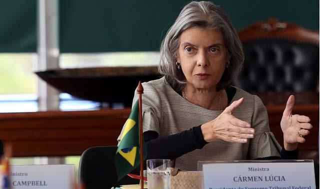 Cármen Lúcia nega a Aécio pedido para Gilmar ser relator de inquérito