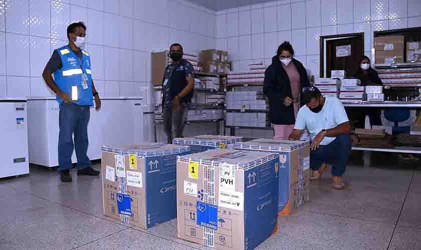 Rondônia recebe, do Ministério da Saúde, mais 28.080 doses de vacina da Pfizer