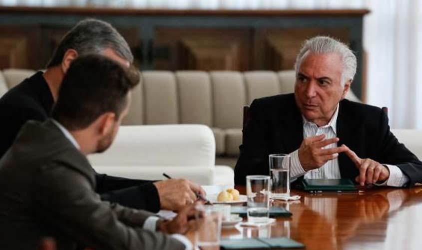 Temer discute com ministros MP para atender Roraima e imigrantes venezuelanos