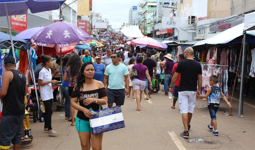 Domingão da CDL atrai grande púbico e alcança saldos positivos para o comércio de Porto Velho