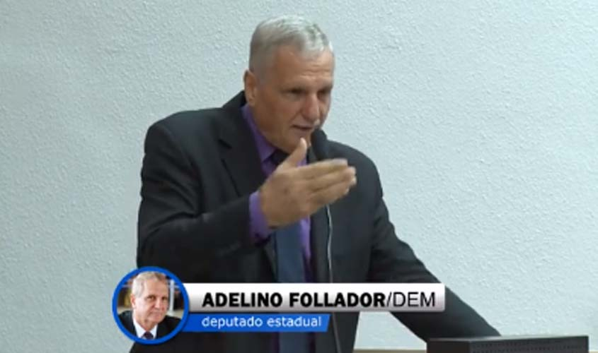 Follador defende reforma do estatuto do desarmamento